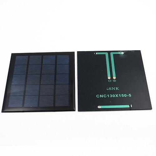 5V 500mA 2.5Watt 2.5W Poly Panel Solar Standard Epoxy monocrystalline Silicon DIY Battery Power Charge Module Solar Cell toy