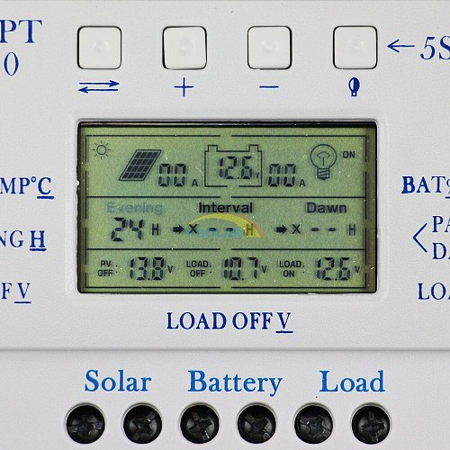 hot selling Solar PWM Controller Mppt 40a current solar controller charger