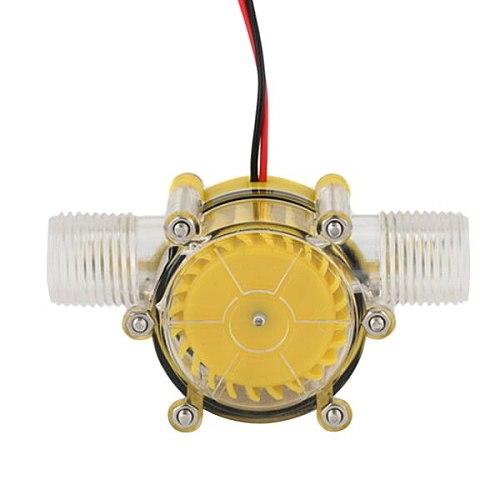 1pcs Micro Hydroelectric Generator 12V Stabilivolt 10W Power Hydraulic Conversion JS23