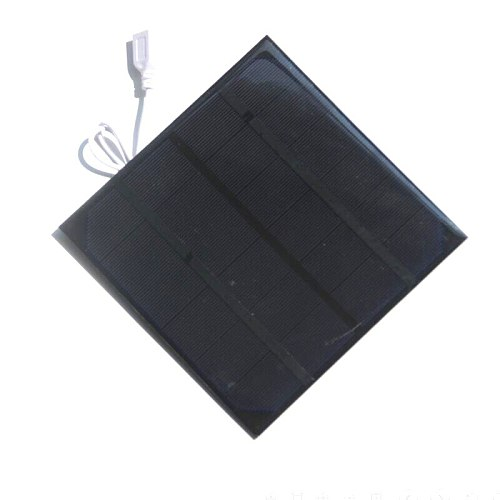 4.5W 6V Solar Powered Panel Iron Fan For Home Office Outdoor Traveling Fishing 6 Inch Cooling Ventilation Fan USB