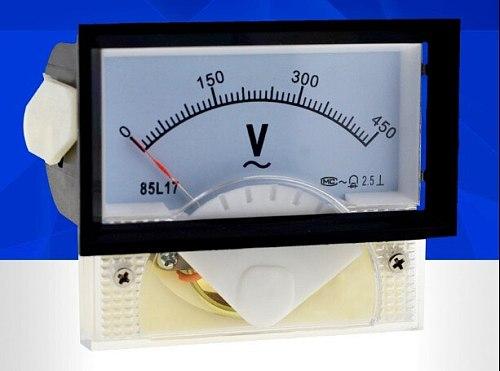 85L17 Analog Panel Volt Voltage Meter Voltmeter Gauge AC 0-450V  70*40mm