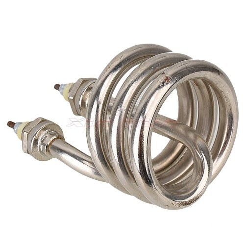 AC220V 2500W stainless steel heating pipe Electrical Element Helix Booster spring-type heating tube heat pipe