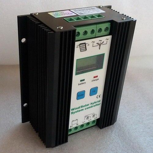 Wind Solar Hybrid Charge Controller 12V 24V for 800W 600W 400W wind turbine generator & 400W 300W 150W solar panel controller