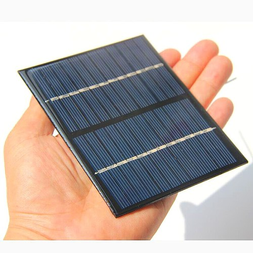 cheap 1.5W 12V Solar Cell Module Polycrystalline Solar Panel with Cable Wire DIY Solar Battery Charger Study 115*90*3MM 4pcs