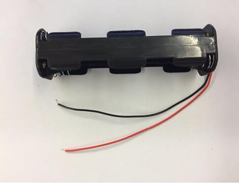 Free Shipping 1pcs/lot 8 pack AA Battery Storage Box 8*AA Battery Holder Case