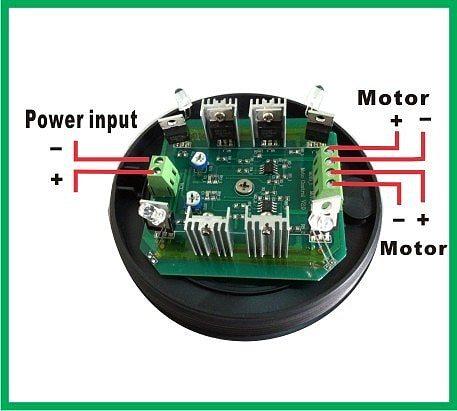DC12V dual axis solar tracker controllers sun tracker