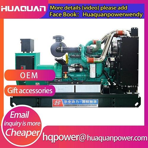 diesel generator 200kw powered by diesel engine