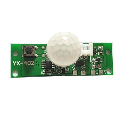 3.7V infrared solar lamp panel circuit board solar lamp board control sensor night light controller module Dropship