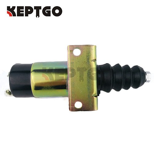 12v Stop Solenoid For Lister Petter, 366-07197 , 1502-12 (2 bolt Without components)