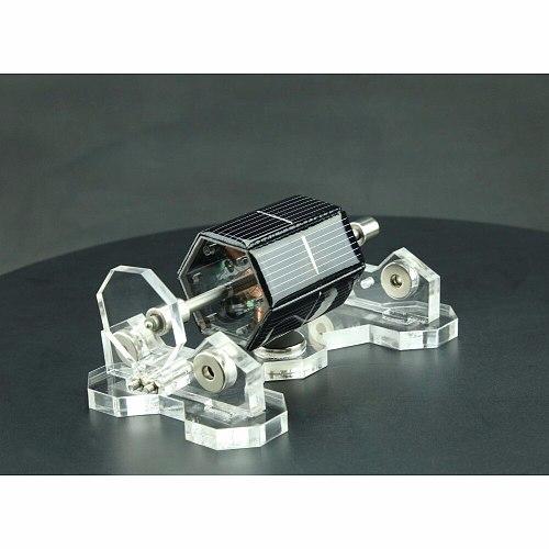 Solar generator magnetic suspension solar motor creative magnetic suspension decoration science gift