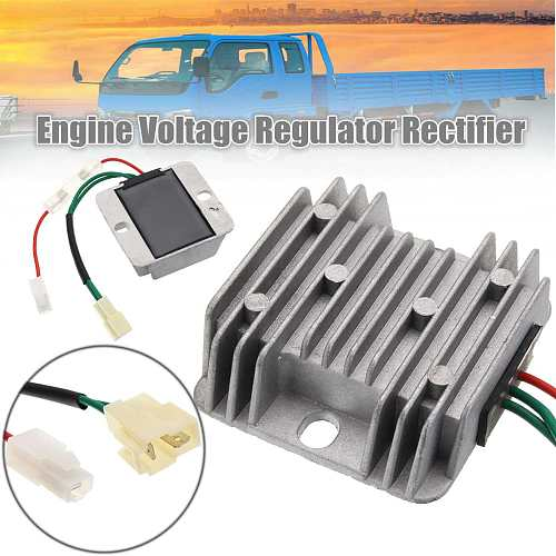 Generator Automatic Voltage Regulator 186F Gasoline diesel alternator Power stabilizer Diesel Engine DC 12V