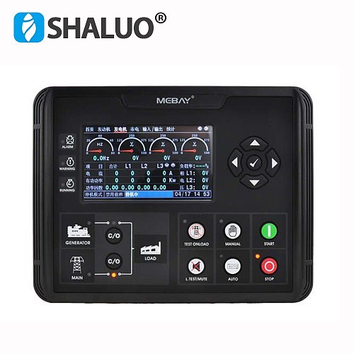 DC70D DC72D DC72DR Diesel Generator set Controller Module Gas Genset Parameters Monitoring With 4.3  LCD Screen Display