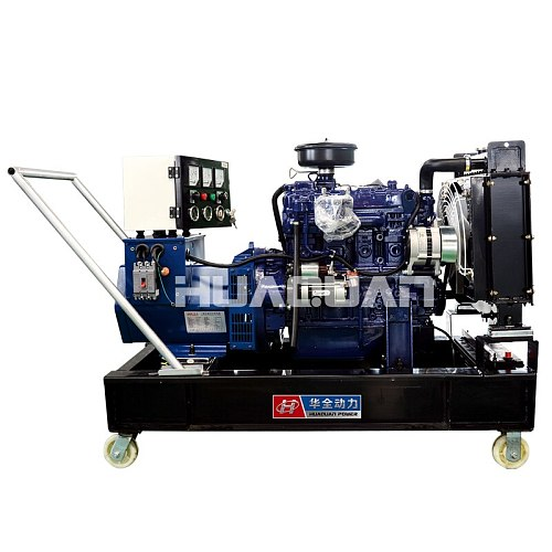 trade assurance 20kw 25kva power generator diesel powered by weichai