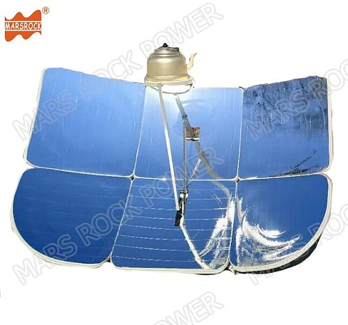 130x190cm Rectangular Partial focus 2300W energy-saving solar cooker