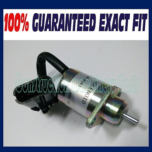 New Fuel Shutoff Solenoid For Kubota V1505 D1505 Diesel Engine 1503ES-12A5UC9S SA-4561-T