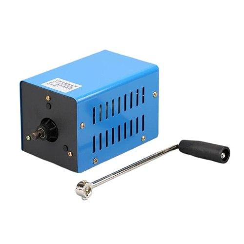 Portable Emergency Generator Inverter Outdoor Multifunction Manual Crank Dynamo