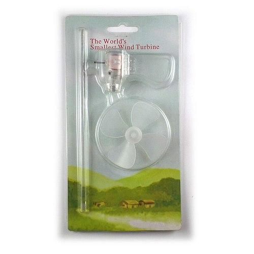 Smallest Mini Wind Turbines Generator LED Teaching Tools Sample Model Hot
