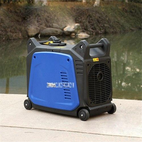 XY157F Digital Inverter Gasoline Generator Silent Portable Camping Household Gasoline Generator Set 3000W 220V 3000r/min 5.7L