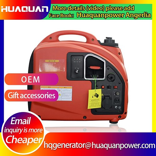hot sale small air cooled silent gasoline 2kw generator price in india