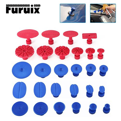 Tools ABS Glue Tabs Auto Body Pulling Paintless Dent Repair Tools Glue Tabs Fungus Suction Cup Suckers Dent Removal