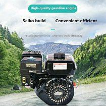 6.5HP 4 Stroke Pull Start Gasoline Engine 168F 196CC 0.6L OHV Air Cooled Single Cylinder Petrol Engine For Sprayer Lawn Mower