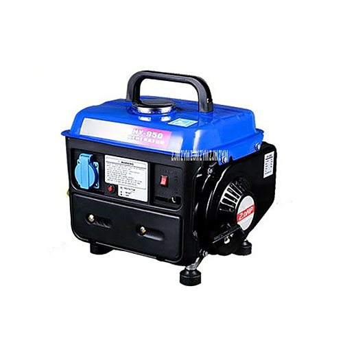 HY-950 High Quality Hand Pull Low Noise Mini Gasoline Engine Generator Liquefied Gas Natural Gas Fuel Tank 4.2L 650W 220V 50HZ