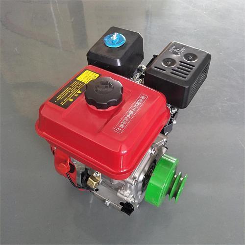Karting motorcycle tiller engine 3600rpm 220v 4kw gasoline engine power belt centrifugal block double groove clutch