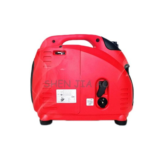 Small digital variable frequency generator portable portable gasoline generator digital generator 220V 1500W 50Hz