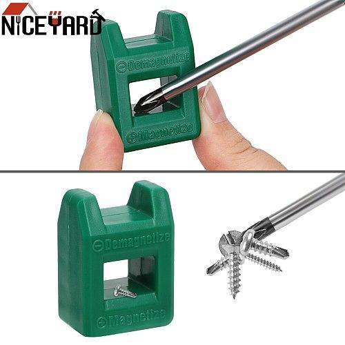Mini 2 in 1 Screwdriver Tool Porcelain Demagnetizer Magnetizer Degausser Powerful Quickly Porcelain Demagnetization Filling