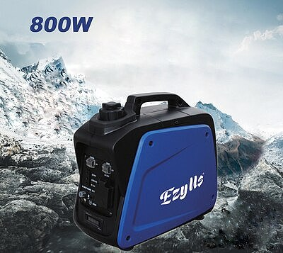 small lightest 800w portable silent camping boating fishing outside gasoline power inverter generator set