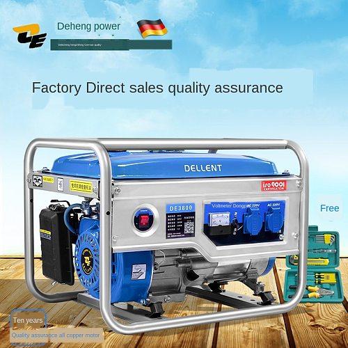3kw generator 220v home 3000w single phase small mini gasoline generator