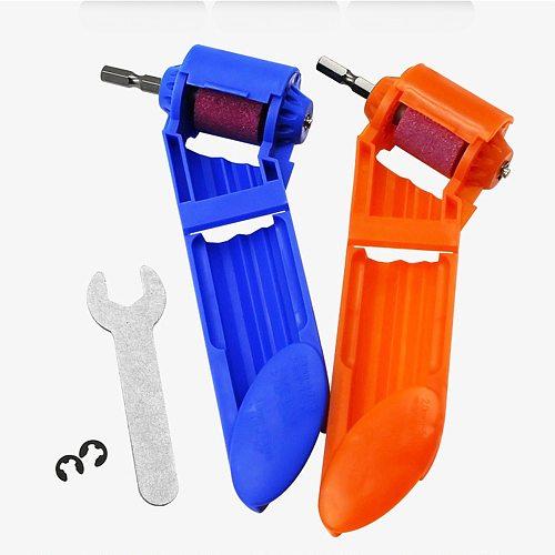 2-12.5mm Drill Bit Sharpener Corundum Grinding Wheel Portable Powered Tool for Drill Polishing Wheel Drill Bit Sharpener