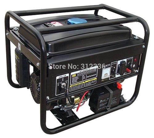 Sea shipping portable generator 3500 2.5kw 168FE GX200 Electric starting OHV 6.5hp  single phase 220V 50Hz