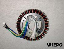 5000 Watt (48V/60V/72V) Customized 100% Copper Winding Rotor for DC Generator fits on 170F,172F Gasoline Engine