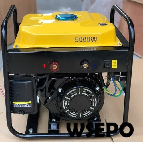 WSE-5KW 72V Gasoline DC Battery Charging Generator with Automatic Start Function Applied for Electric Vehicle(E-Car/E-Tricycle)