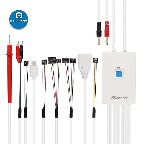 Qianli iPower MAX Pro Test Line DC Power Supply Cables Control Cable iPower Booting Repair for iPhone XS MAX X 8G 8P 7G 7P 6 6S
