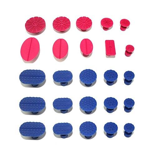 25PCS Car Paintless Dent Repair Tools Ste Dent Puller Glue Tabs