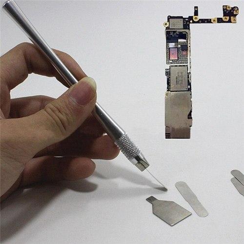 PW TOOLS 10 in 1 IC Chip Repair Thin Blade Tool CPU Metal Remover Tool For Mobile Phone Computer Processor Repair Tools