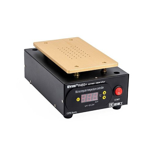 Built-in Vacuum UYUE 948S+ LCD Touch Screen Separator Machine kit for Phone Front Glass Repair