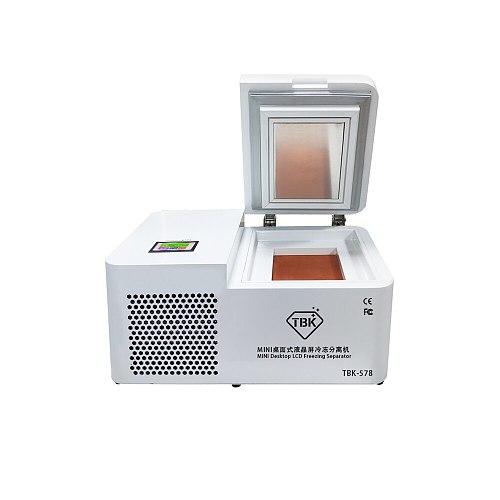 TBK 578 Mini Professional frozen separating Machine For Samsung Edge For iPhone Tablet Screen Refurbishment -185 degree freezer