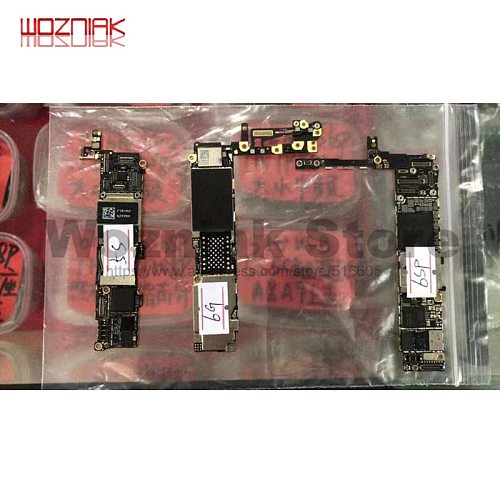 Original Bad Motherboard for IPHONE 5S 6G 6SP 6P 7G 7PLIS 8G 8P Bad Motherboard That Can't Work Practice Mainboard