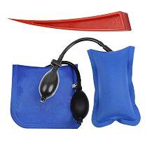 3 PCS / Set Pump Wedge Locksmith Tools Airbag Car Hand Tools Pump Wedge Air Wedge Airbag Set Dent Remover Kit Auto