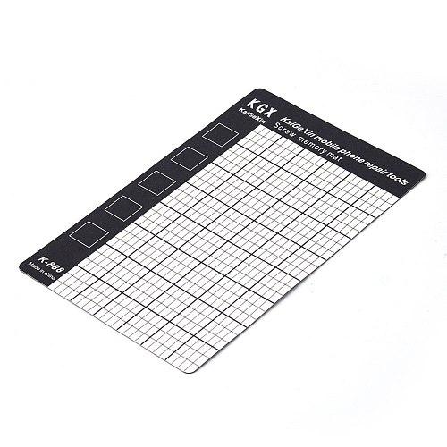 1Pc Universal Magnetic Screw Mat Memory Chart Work Pad Mobile Phone Laptop Repair Tools