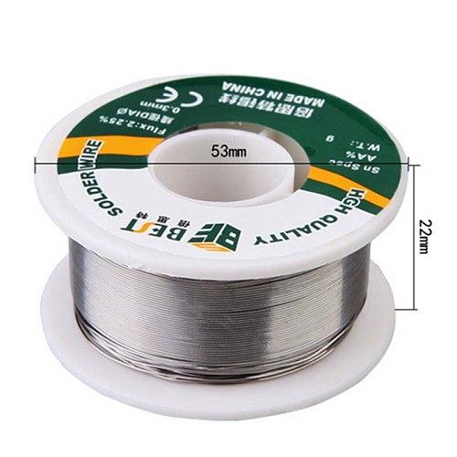 Wozniak Lead Rosin Core Solder Tin Wire 0.6mm 0.8mm 1.0mm 100g Soldering Welding Flux 2.25% Iron Wire Reel Welding Tool