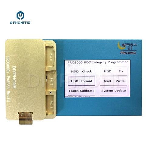 PHONEFIX Naviplus Pro 3000S NAND Programmer Pro3000S SN Read Write Repair Tool For iPad 2 3 4 5 6 Unlock iCloud Repair