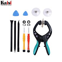 Kaisi 10 In 1 Mobile Phone Repair Tools Kit LCD Screen Opening Pliers Screwdrivers Pry Disassemble Tool For IPhone8 7 6s 6 5s 5