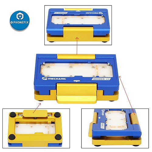 Mechanic Motherboard Fixture for iPhone X/XS/XSMAX/11/11Pro/11Pro MAX Logic Board Separating Test Jig Mainboard Clamp