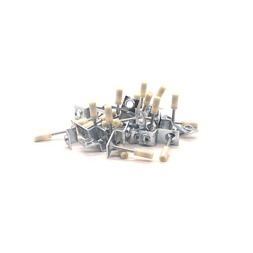 20Pcs M6/M8/M10 Nut Nails For Manual Steel Nails Gun Concrete Steel Nailer Gun Wire Slotting Device Decoration