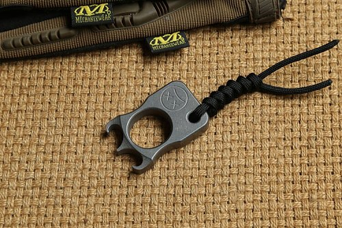 DICORIA SFK single finger ring Titanium Combination Hand Tools camping hunting outdoor gear EDC  knuckles Multi tools