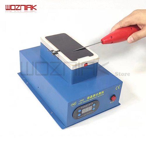 Wozniak Hard glue Cold Screen OCA Dry Glue Degumming Removing Glue Tool Curved screen For iPhone 8 x Shovel Glue Device